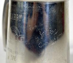 Vintage 1985 General Dynamics Fighting Falcon F16 Signed Commemorative Mug image 3