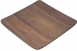 """Epicure Acacia Grain Square Tray 9"""" x 9"""" - Dark Woodgrain - €13,51 EUR"""