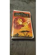 WALT DISNEY THE LION KING II SIMBA'S PRIDE VHS TAPE - SEALED - $3,500.00