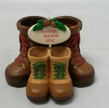 Hallmark Keepsake Like Dad, Like Son Christmas Tree Ornament Holiday Dec... - $16.20