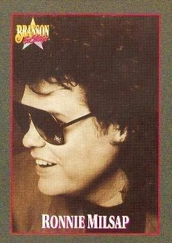 Primary image for Ronnie Milsap trading card (Country Music) 1992 Branson on Stage #65