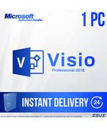 Visio Professional 2016 - 32Bit - Retail 1PC - $25.99