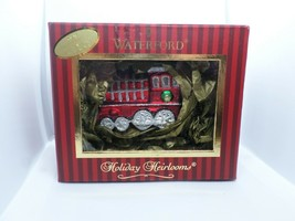 Waterford Glass TRAIN ENGINE Ornament 2nd Ed Holiday Heirloom Collection... - $25.00