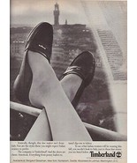 1983 Timberland Shoes Penny Loafers Ferragamo Gucci Italy Vintage Print ... - $7.13