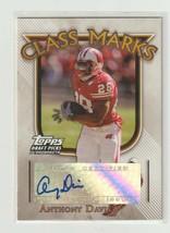 Anthony Davis  2005 Topps Football Draft Picks Autograph #CM-AD - $0.98