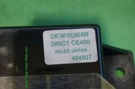 Nissan 350Z Roadster Convertible Soft Top UNIT-FOLDING ROOF Module 285C1-CE400 image 2