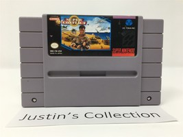 Super Conflict  Authentic Super Nintendo Video Game Cartridge - $19.98