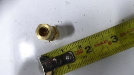 5 Parker X66CA-4-2 Brass Tube Fittings for Flammable Liquid Pack of 5 image 3