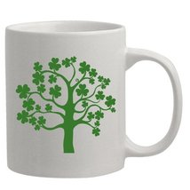 Lucky Shamrock Tree St. Patrick's Day Coffee Mug Gift - $13.95