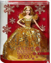 Mattel Barbie Signature 2020 Holiday Doll Blonde Golden Gown Collector - $70.00