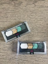 2 x Maybelline Eyestudio Quad Eyeshadow Limited Edtn #300 Sea Sprite Lot of 2 - $12.73