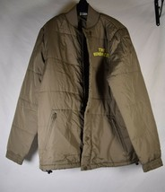 The Hundreds Mens Brown Quilted Puffer Jacket Coat XL  - $69.30