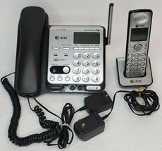 AT&T CL84109 1.9 GHz Dual Handsets Single Line Corded Cordless Phone Caller ID - $34.29