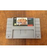 SNES Super Nintendo American Gladiators Game Cartridge - $11.88