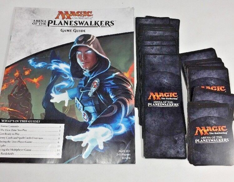 Primary image for Magic Gathering Game Board Arena of the Planeswalkers Replacement Cards & Instru