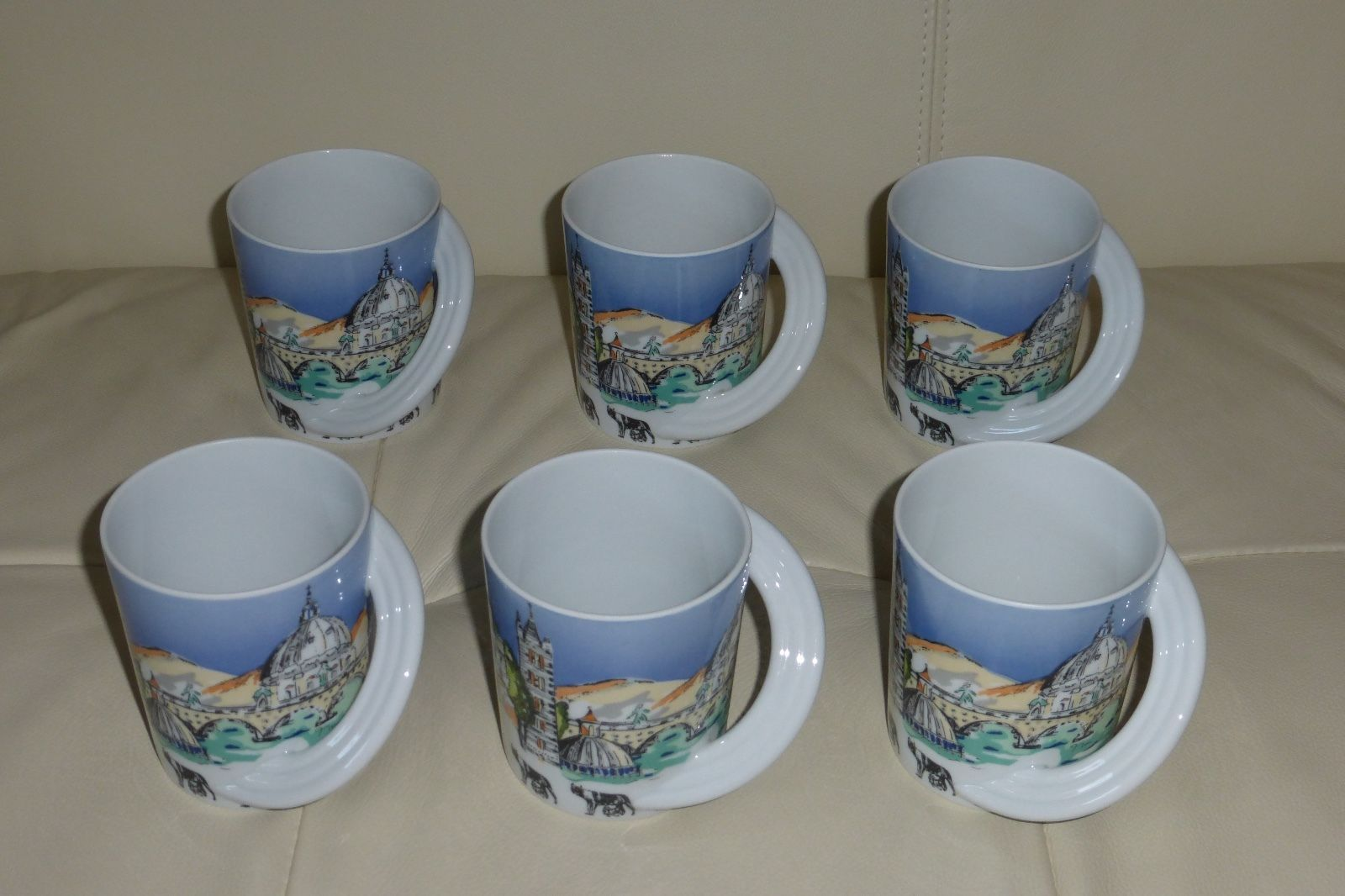 ... 6 Rosenthal City Cup Studio-Line Rome Designed by Johann Van Loon & 6 Rosenthal City Cup Studio-Line Rome and 33 similar items