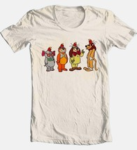 Banana Splits Lineup T-shirt Saturday morning 80's cartoons cotton beige tee image 2