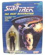 Star Trek: The Next Generation Galoob Data Speckled Face Action Figure 1... - $33.81
