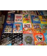 BOX of 100 OLD BASEBALL PACKS BULK LOT 1200+ Cards - $39.00