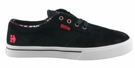 Etnies Hommes Noir/ Fauve / Rouge Cuir Daim Jameson 2 Basse Skateboard Shoes NW
