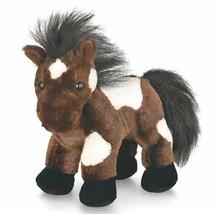 Pinto Horse Webkinz HM147 Stuffed Beanbag Animal Plush No Code - $4.74