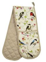 Uccellino Rami a Pois 100% Cotton Twill Doppio Guanto da Forno 17cm x 90cm - $11.08
