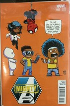 Mighty Avengers #1 Marvel 2014 Baby Variant Skottie Young - $5.88