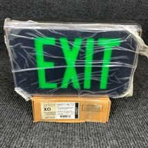 Lithonia Lighting LV S 1 G 120/277 4X Extreme Emergency Exit Sign Black ... - $140.25