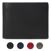 Calvin Klein CK Men's Genuine Leather ID Window Bifold Wallet 79813