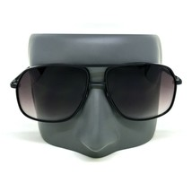 Mens Retro Vintage Metal Bar AVIATOR Designer Fashion Black Sunglasses f... - $13.68