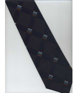 Vintage ITALIANISSIMO Tie ~ Dark Blue, Red, Blu... - $14.00