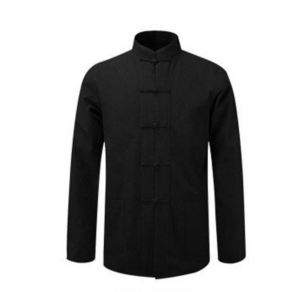 Primary image for New Male Cotton Shirt Traditional Chinese Men Coat Clothing Kung Fu Tai Chi Unif