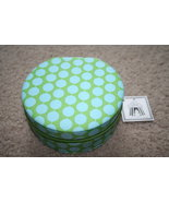 Toss Designs blue green jewelry case bamboo zip... - $19.99