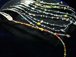 Beads in her hair Barrettes - $5.00