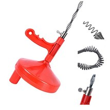 Drain Snake, LEShop Drain Auger Great Drain Clog Remover Use For Plumbin... - $24.89