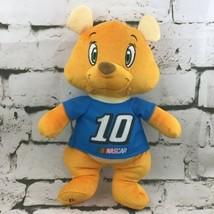 NASCAR #10 Teddy Bear Plush Stewart-Haas Racing Stuffed Animal Kellytoy  - $11.88