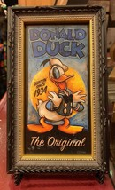Disney Parks Exclusive The Original Donald Duck Mini Giclee Frame New - $37.19