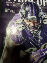 Baltimore Ravens GAME DAY Program Multi Autographs Brandon Carr, Cyrus Jones, Ty image 4