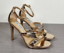 Steve Madden Fatima Sandal, Rose Gold, Womens Size 6.5 M - $34.39