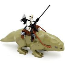 2pcs/set Star Wars Dewback Desert And sandtrooper Minifigures Lego Block Toys - $8.99