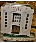 HO trains Plasticville Bank - $10.00