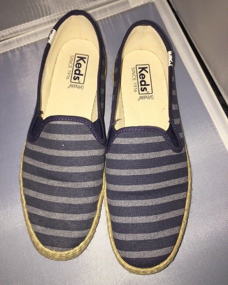 6966df5be4b7 S l1600. S l1600. Previous. Keds Women s Champion Slip Breton Stripe Jute Fashion  Sneaker Size 9 40 EUR