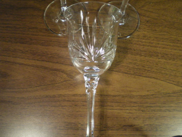 """3 Towle CANDLELIGHT 8 1/2""""  Water Goblet S723676G2"""