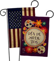 Celebrate Dia de Muertos Burlap - Impressions Decorative USA Vintage Applique Ga - $34.97
