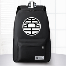 Dragon Ball King Kai Symbol Awesome Design School Backpack Black - $59.90