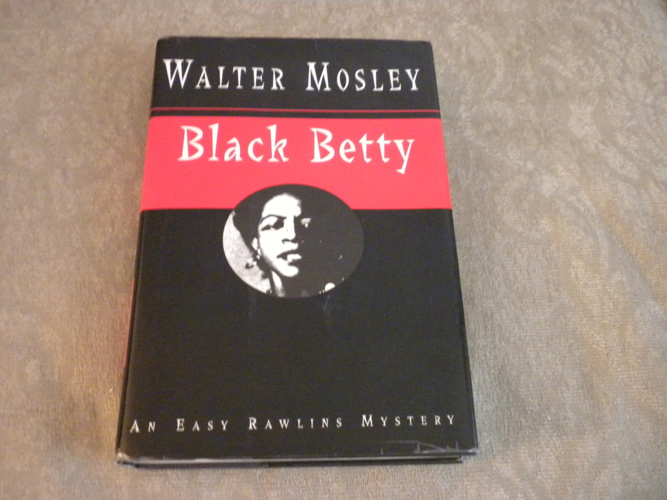 Black Betty by Walter Mosley 1st Ed w full number line HCw DJ Norton 1994 VG+/NF