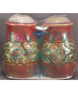 Holly Berry Christmas Ceramic Salt & Pepper Shakers NEW - $3.99