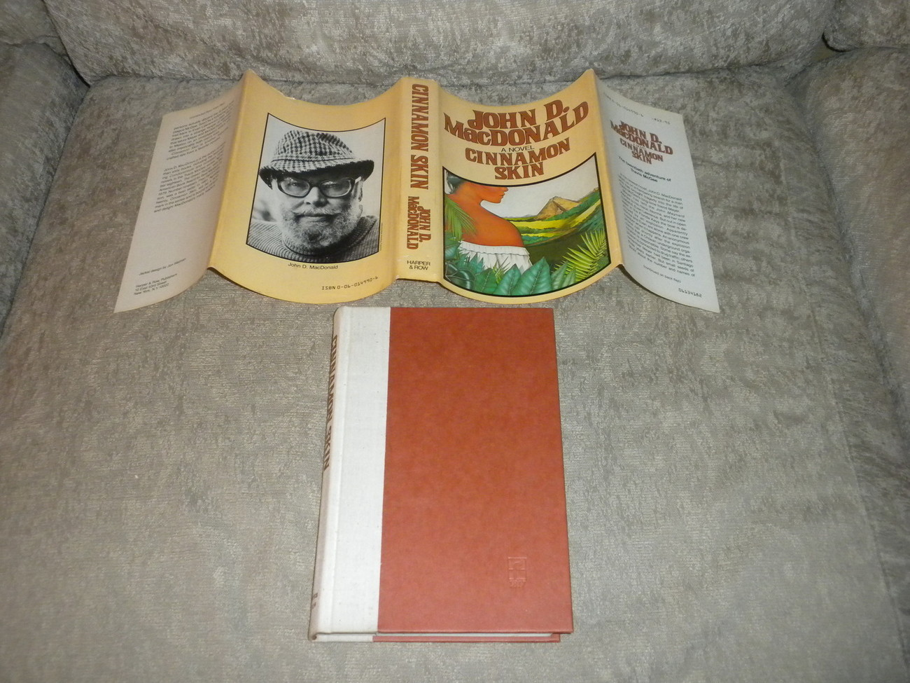Primary image for Cinnamon Skin by John MacDonald 1982 Hardcover w Dust Jacket stated 1st Edition