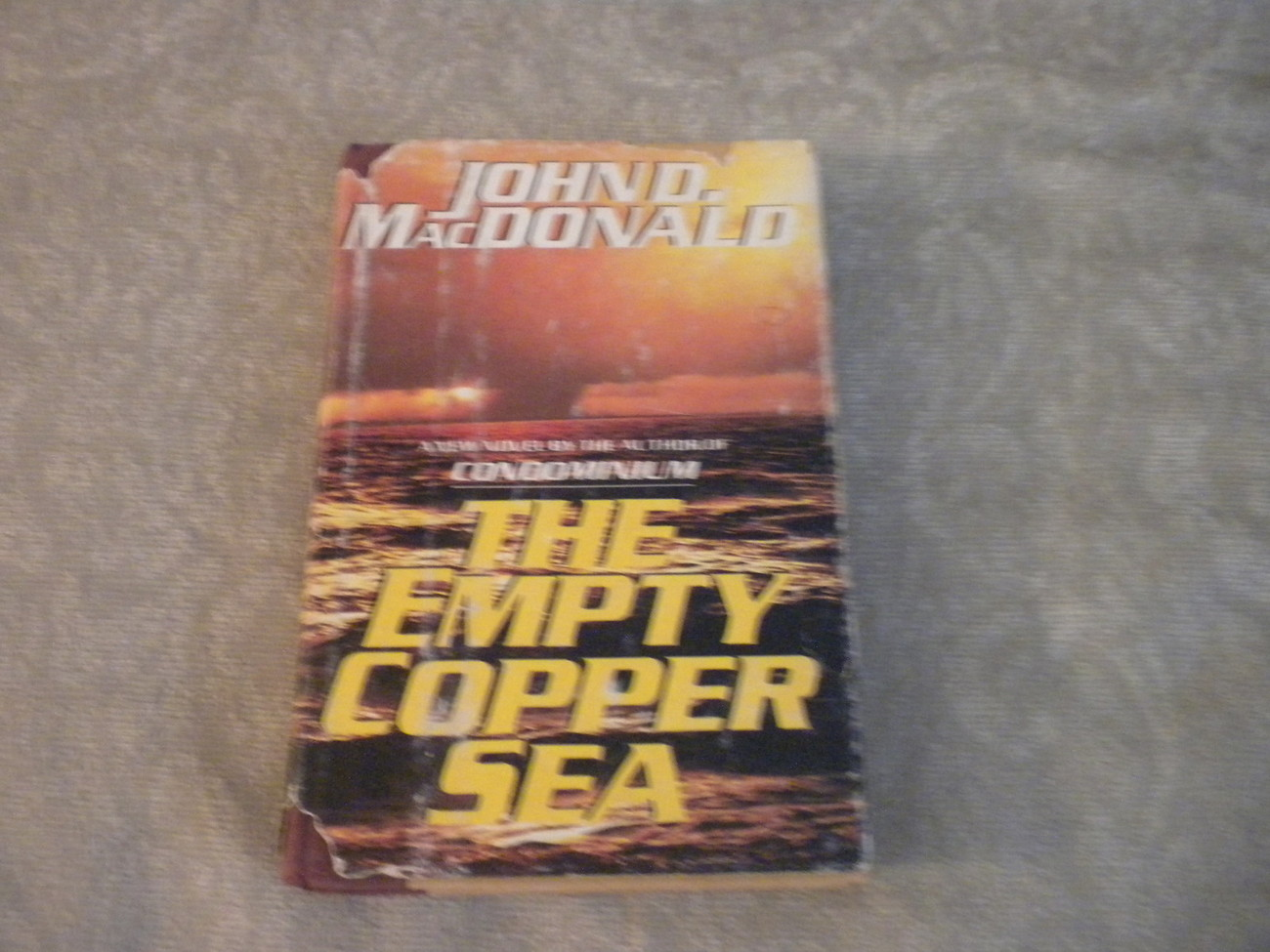 Empty Copper Sea by John MacDonald 1978 HC w DJ stated 1st Ed w full number line