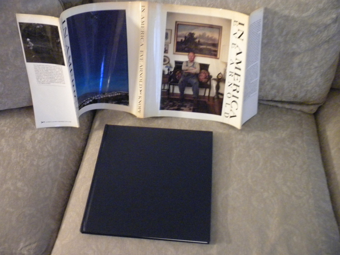 Primary image for In America by Eve Arnold color, blk white photos 1983 HC w DJ 1st Ed NF w extra